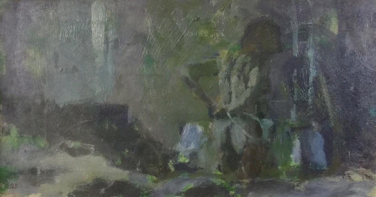 Bernard Dunstan Works Jenna Burlingham Fine Art