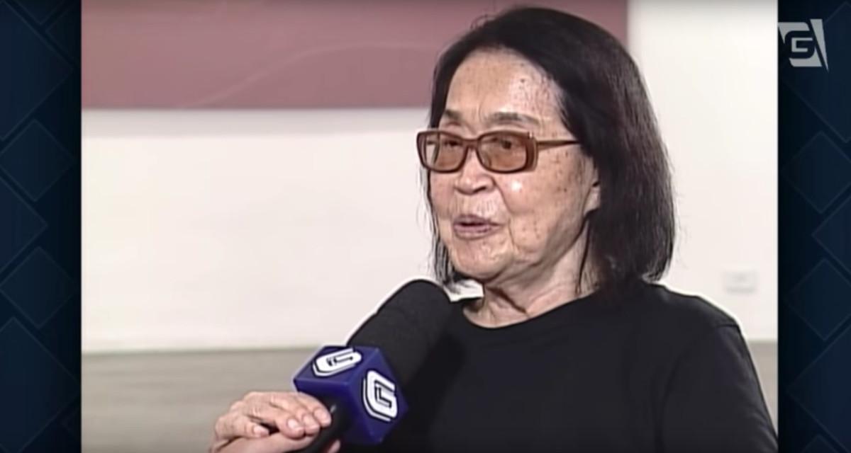 morre, aos 101 anos, tomie ohtake | jornal da gazeta