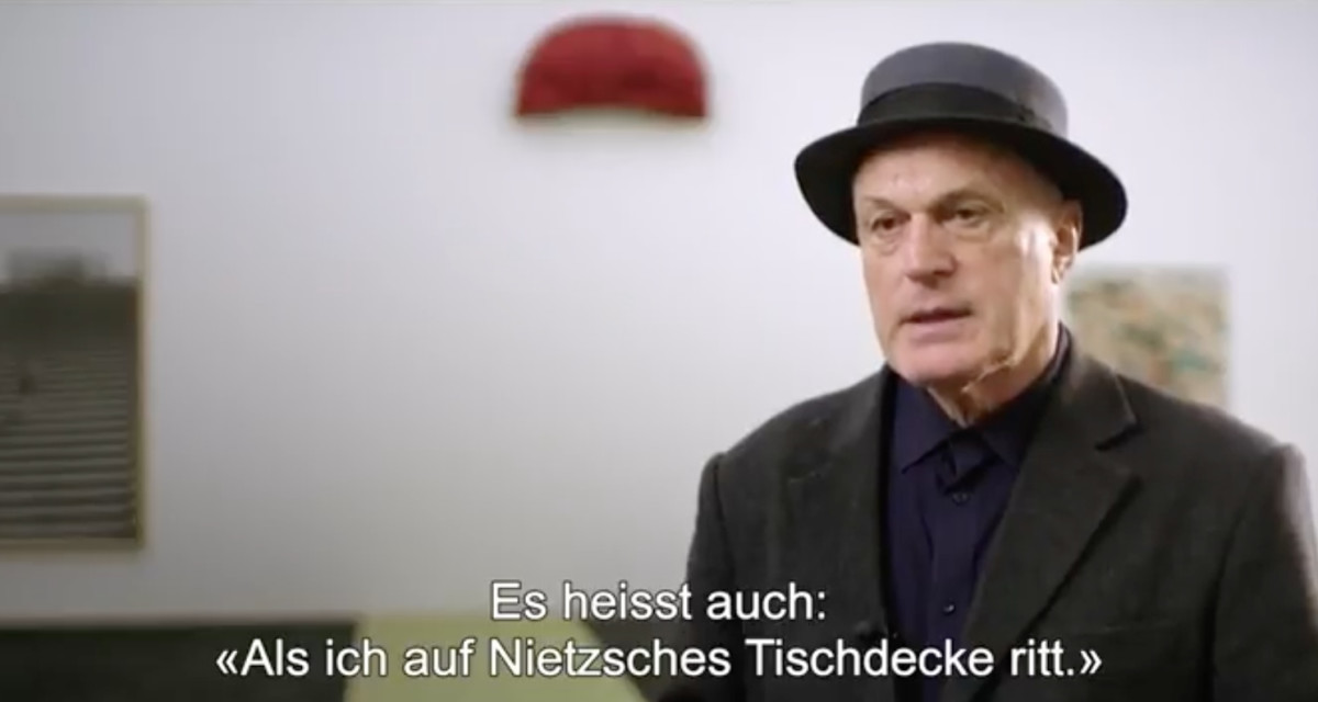 not vital over friedrich nietzsche | kunstmuseum basel