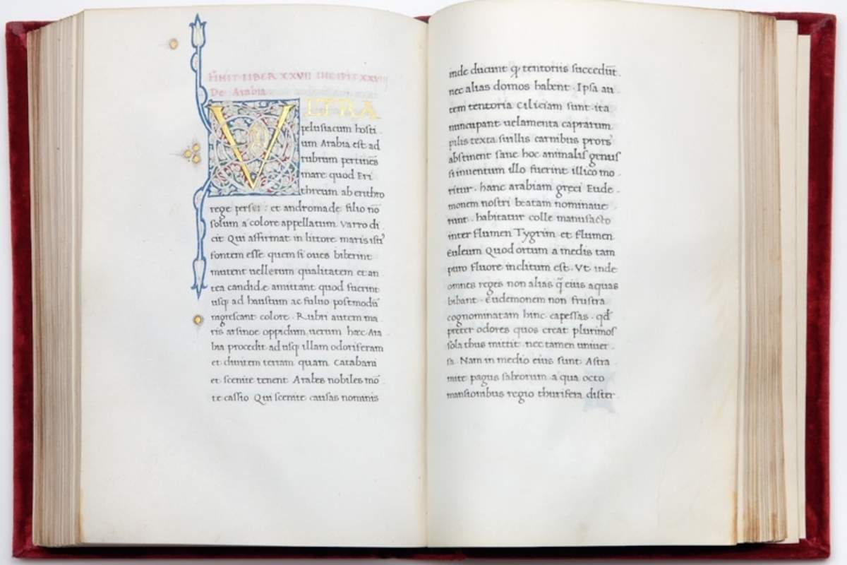 Solinus on Arabia in our Latin manuscript Liber 28