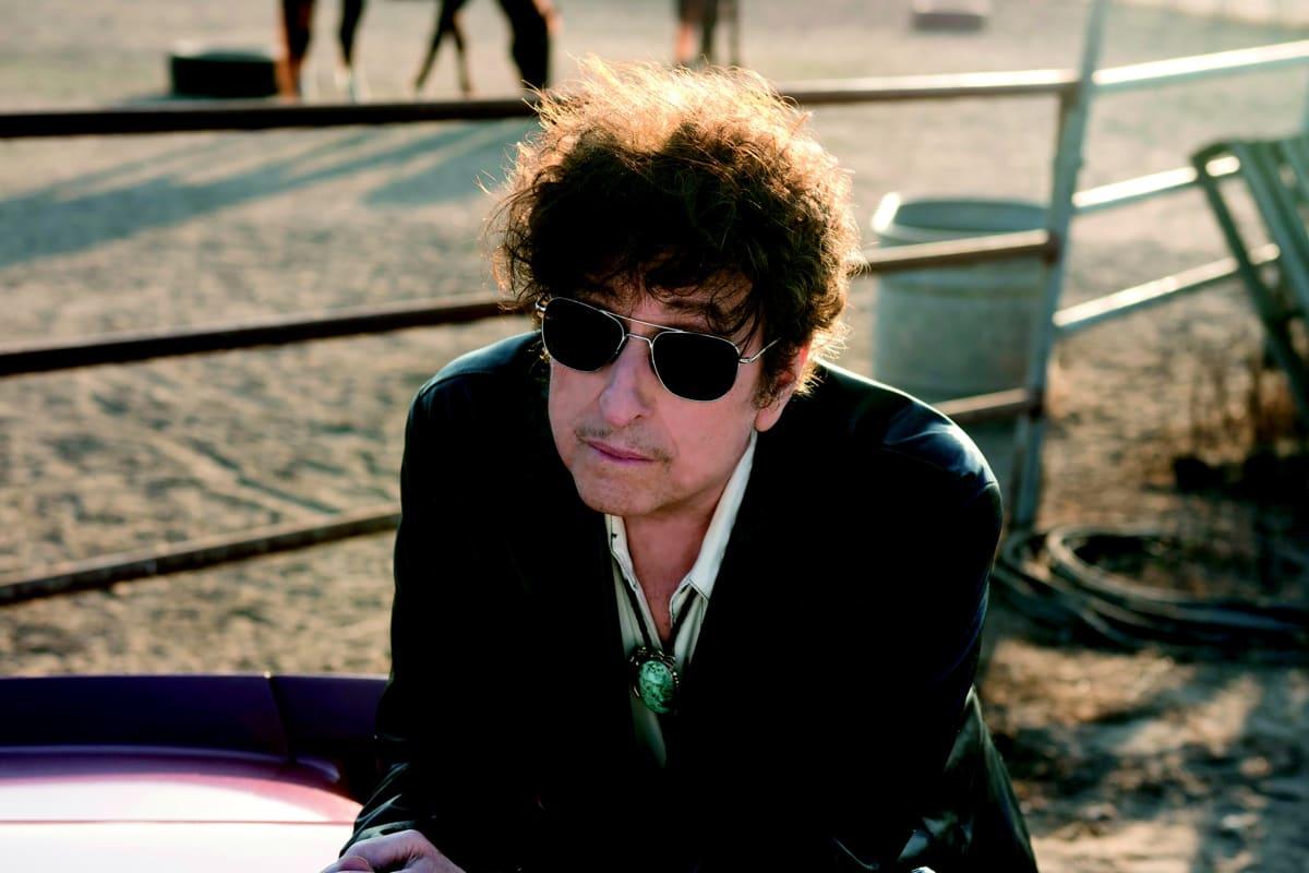 Bob Dylan art, portrait of Bob Dylan © John Shearer