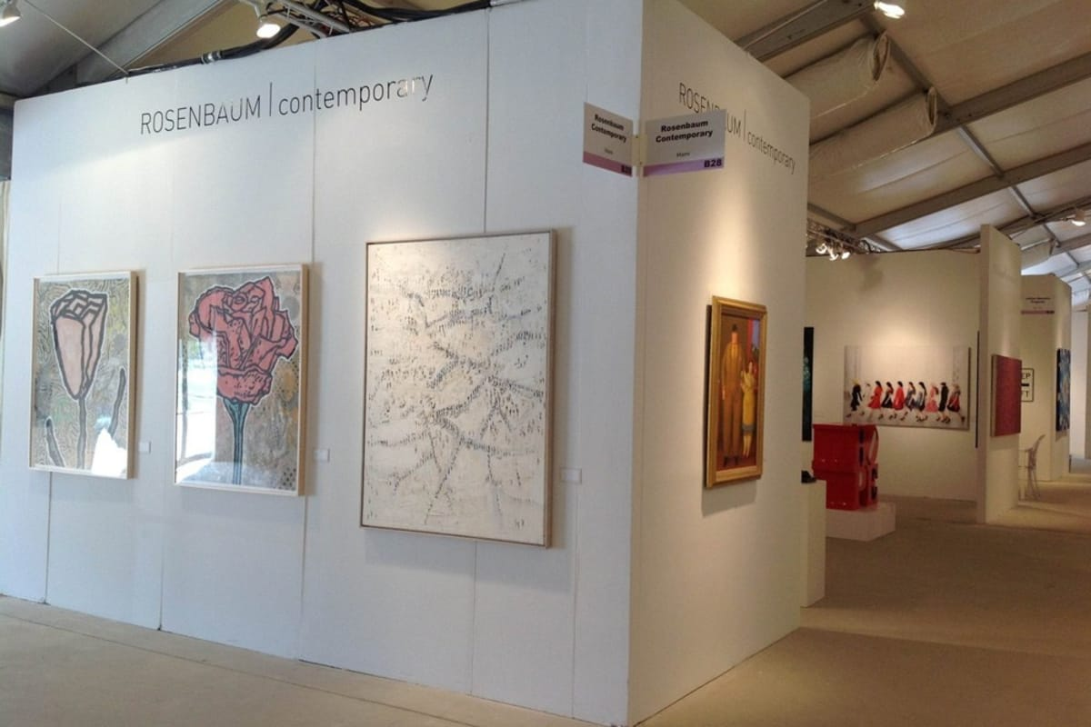 Rosenbaum Contemporary's Art Wynwood 2014 fair booth