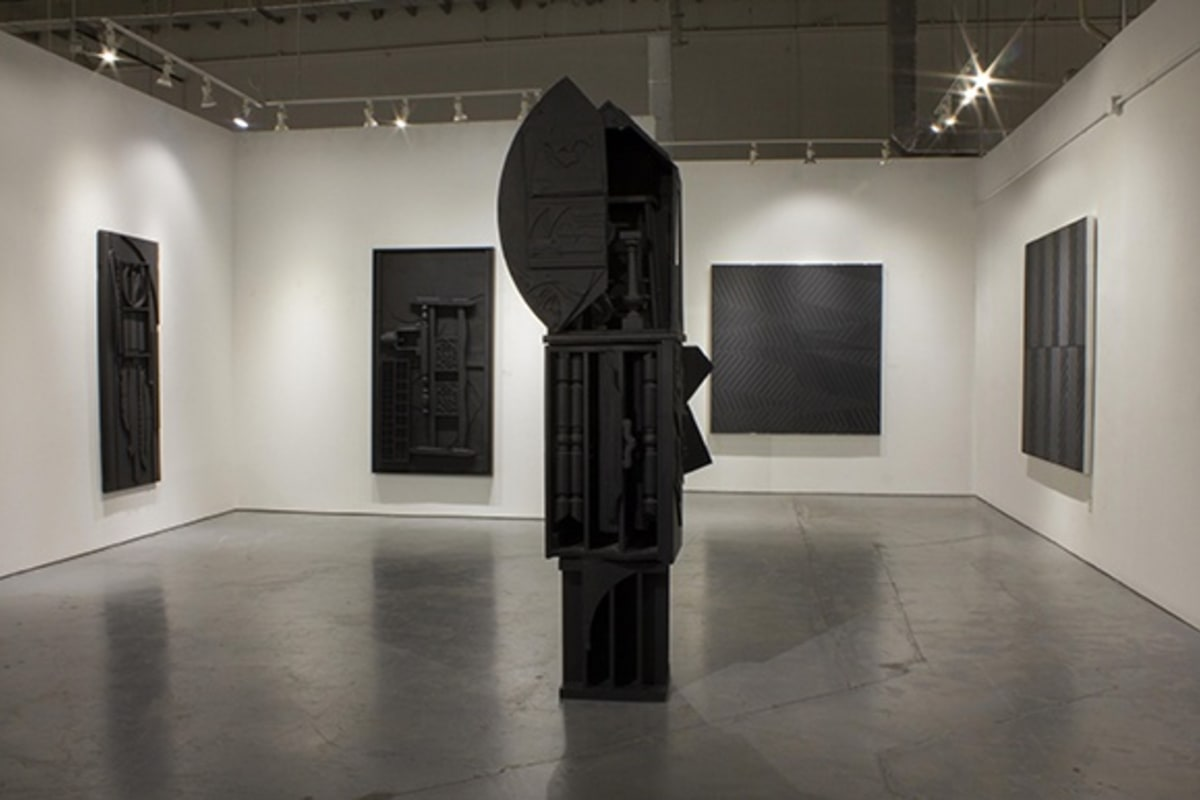 Louise Nevelson + James Little exhibition at Rosenbaum Contemporary gallery in Boca Raton, Fla.