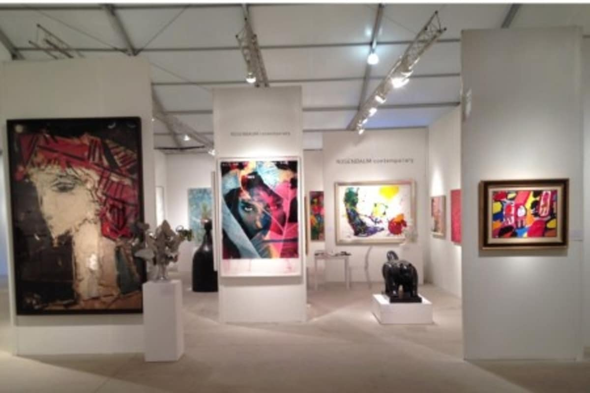 Rosenbaum Contemporary Art Miami 2013 fair booth