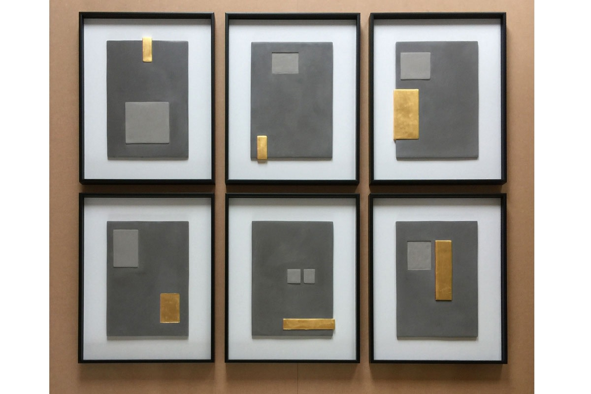 Six bas relief panels for a property development in London