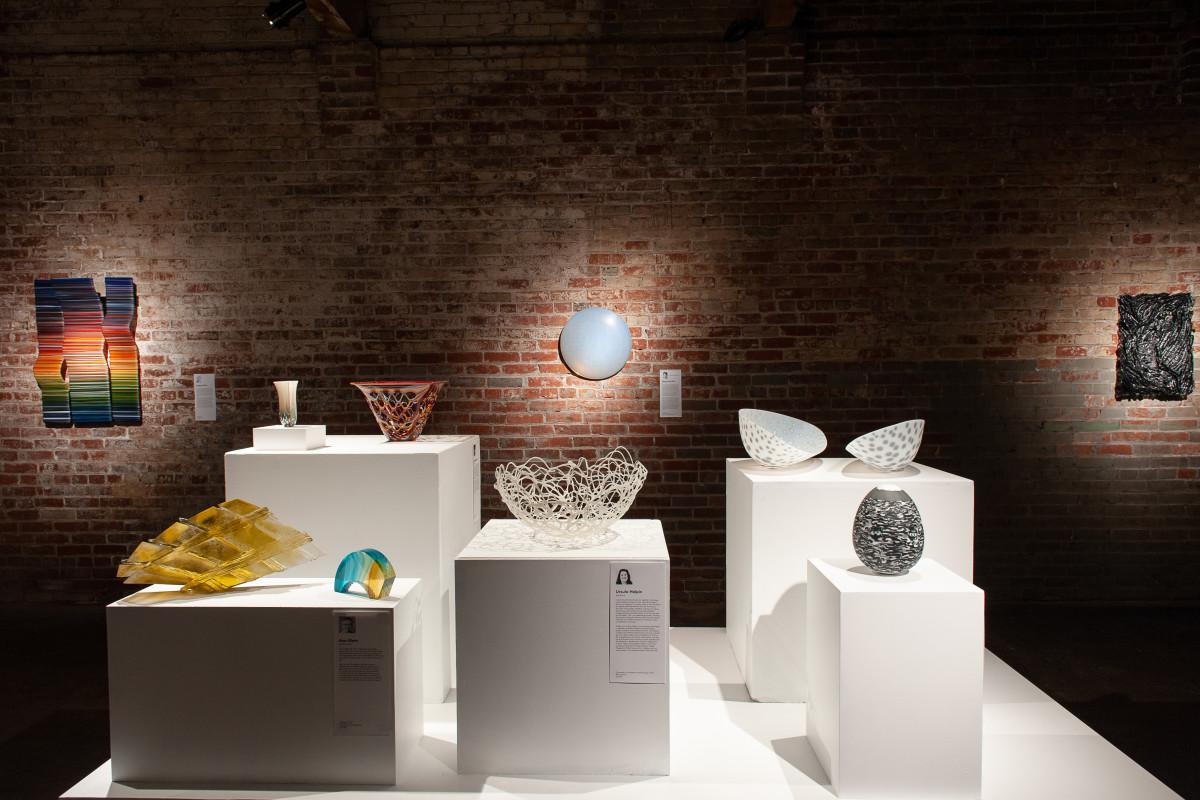 Rising talent in kiln-glass