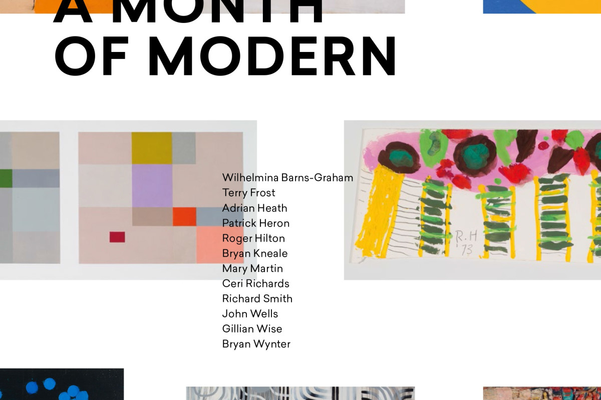 MODERN! THE VITALITY AND THE VARIETY OF BRITISH MODERN ART BY MEL GOODING