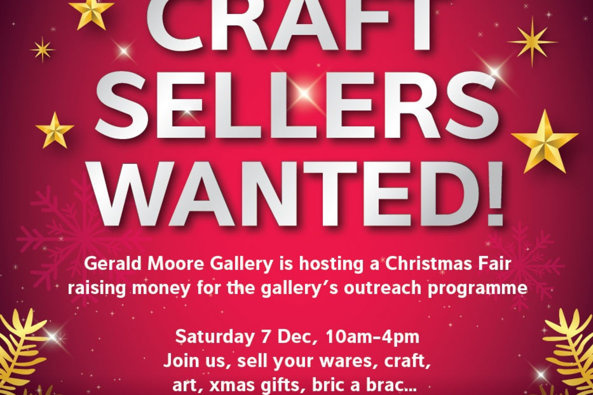 Craft Sellers Wanted!