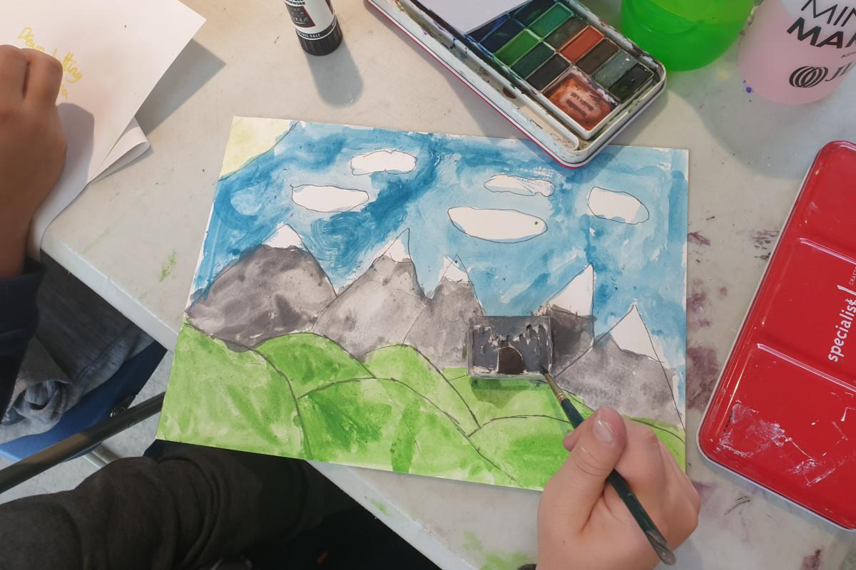 Saturday Art Classes 7+
