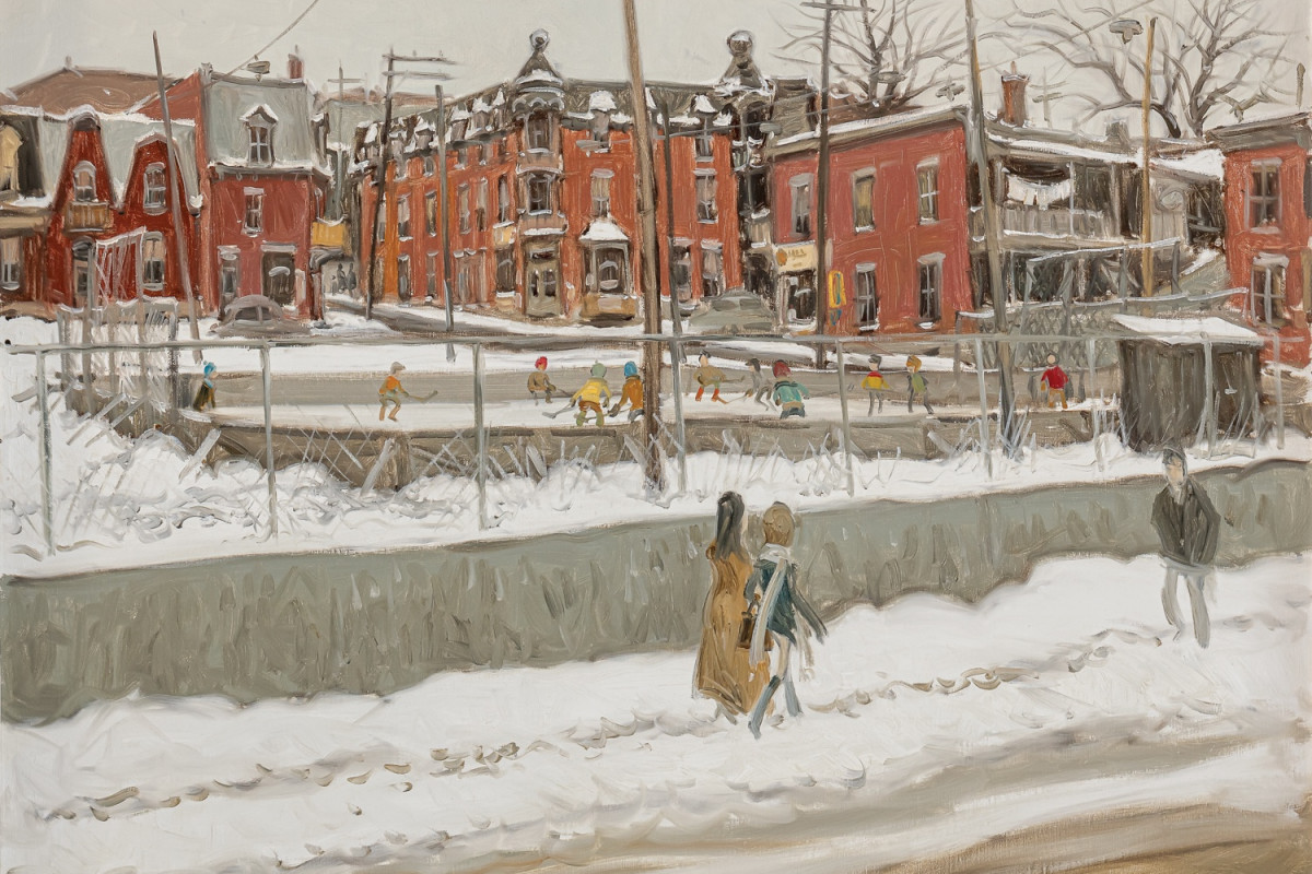 Scènes urbaines by Alan Klinkhoff Gallery