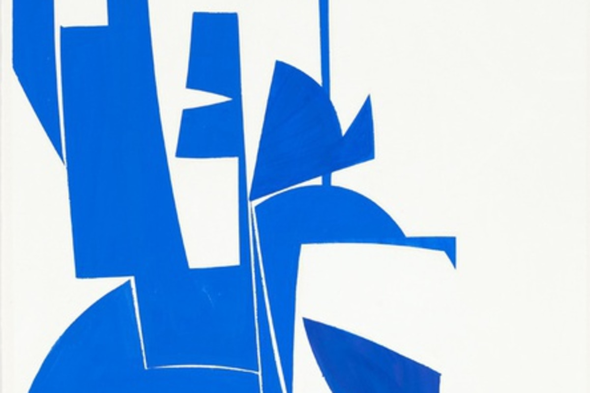 "Detail of ""Covers 24 Blue"""