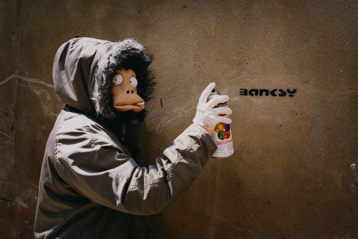 Banksy finally named ?