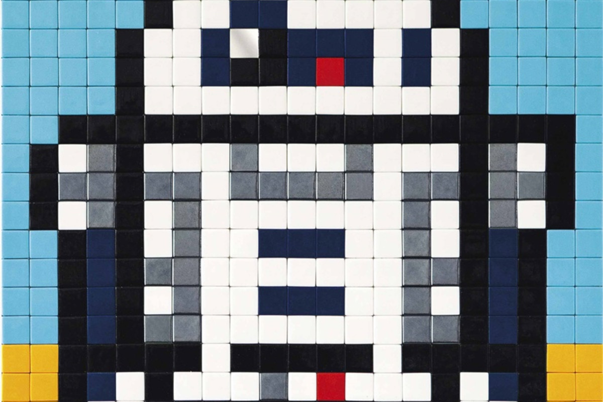 Space Invader is fetching high prices on auction.