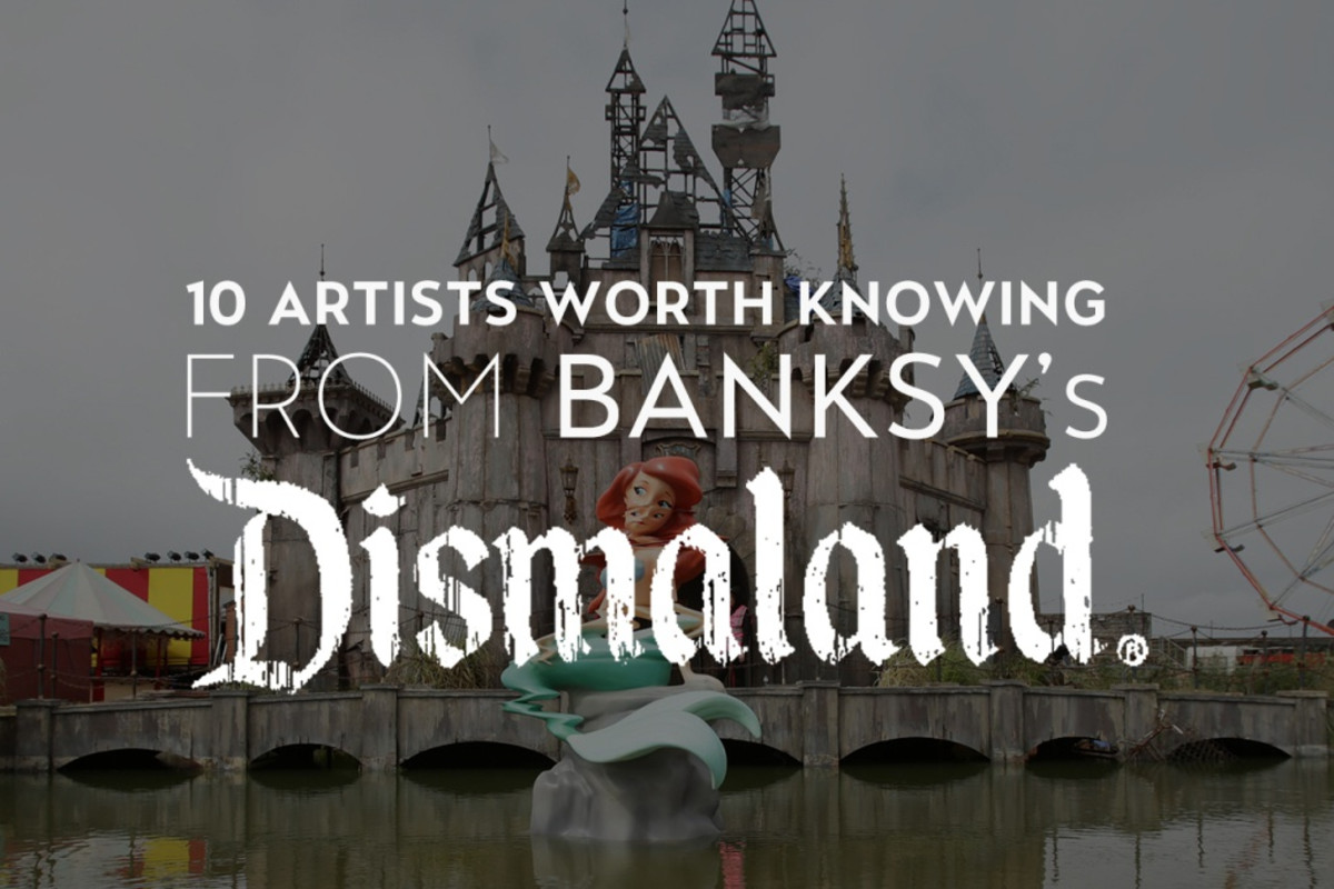 "10 artists worth knowing from banksys ""Dismaland"""