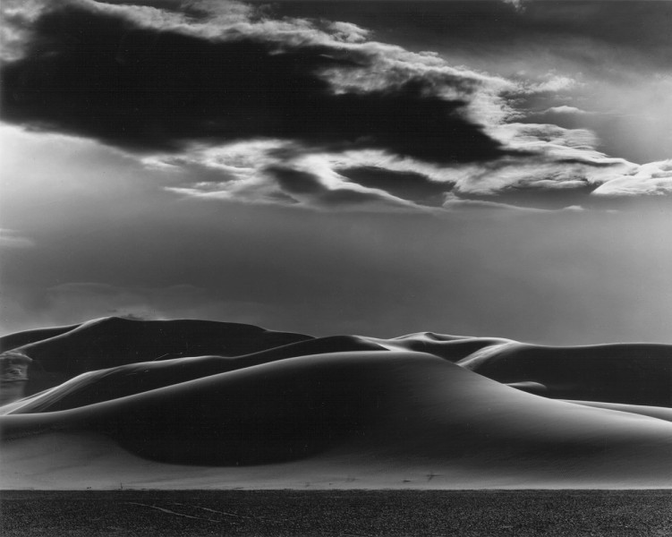 <p><span>Dunes & Clouds, Shoshone, 1969</span></p>