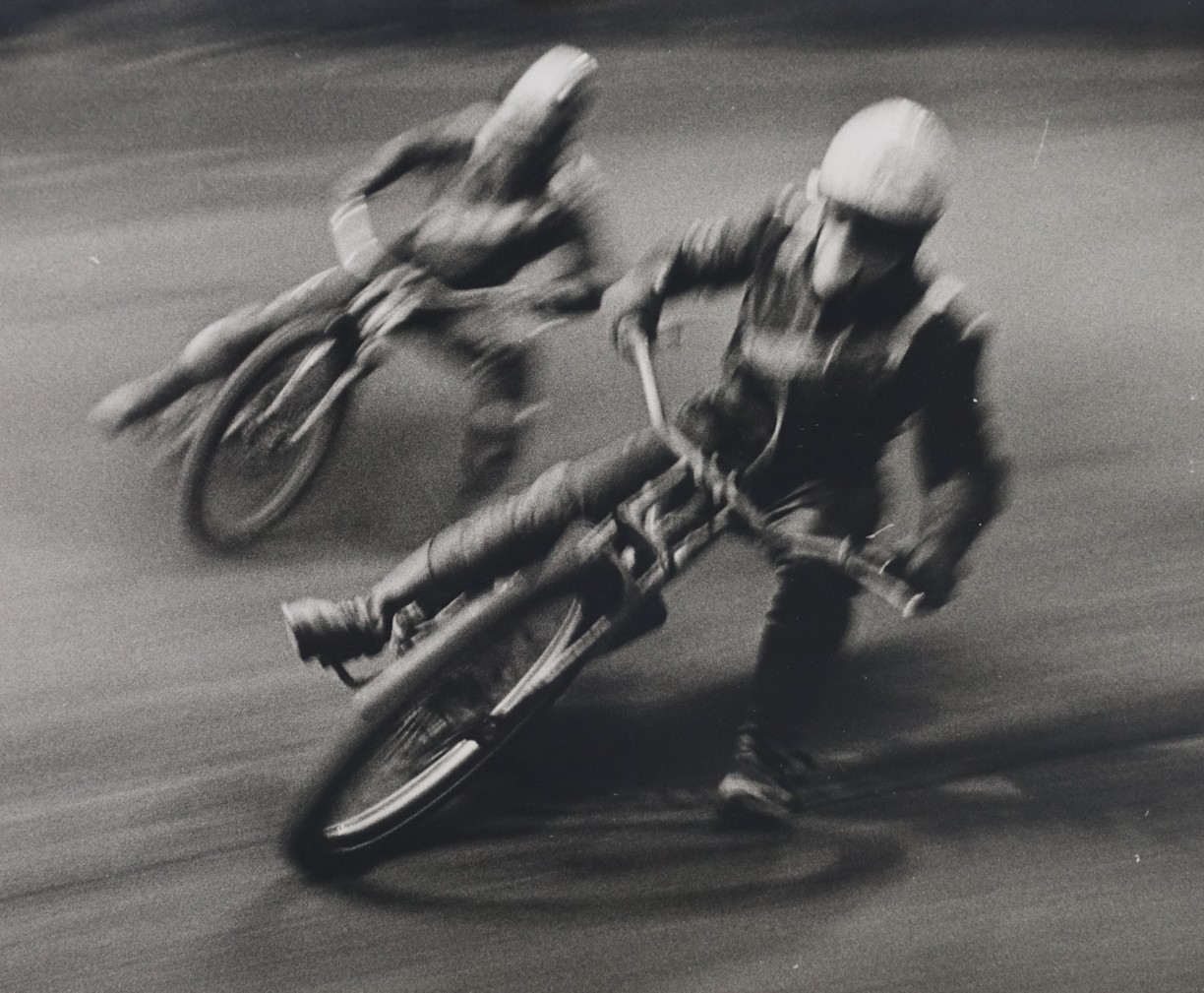 Untitled (Speedway Racing), April 1963