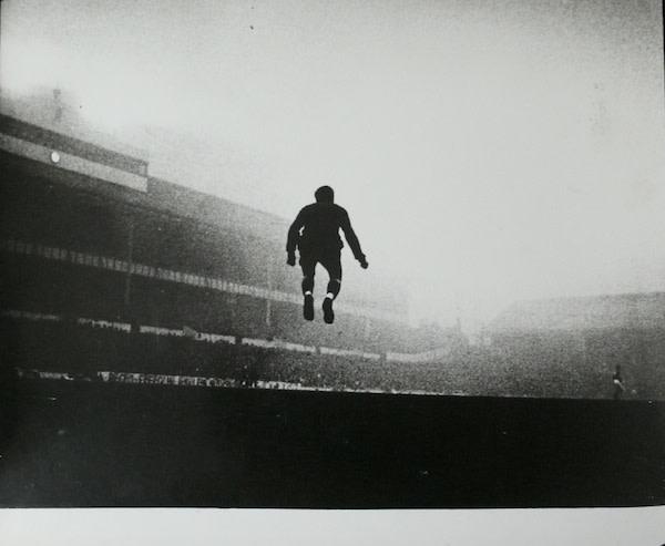 Goalkeeper John Hollowbread, White Hart Lane, London, Jan 1964