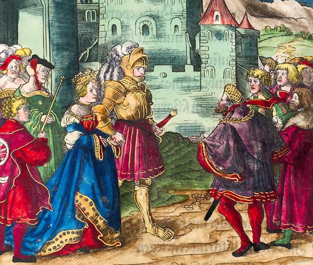Theuerdank: Höfische Liebe und der letzte Ritter