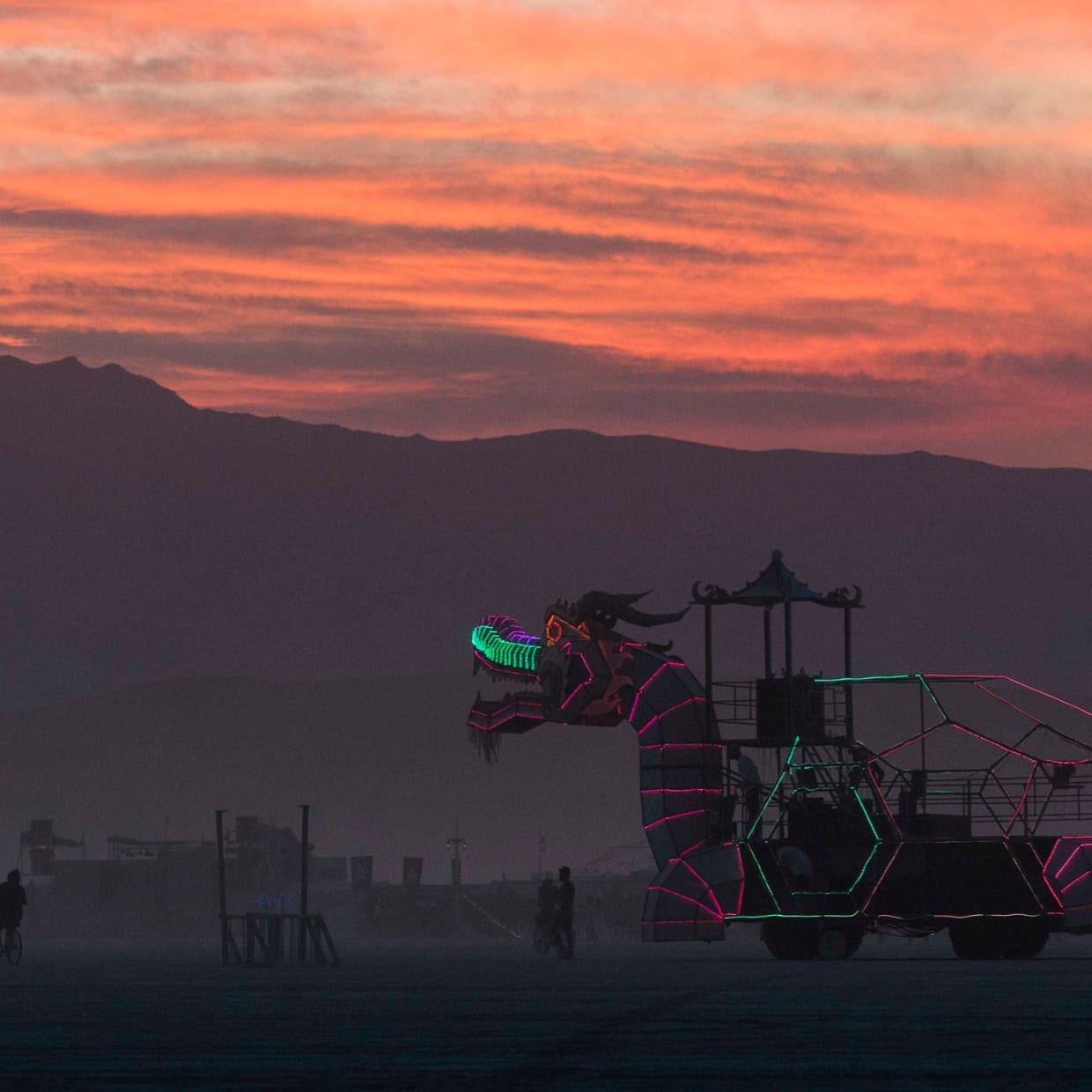 Then you even visit Burning Man