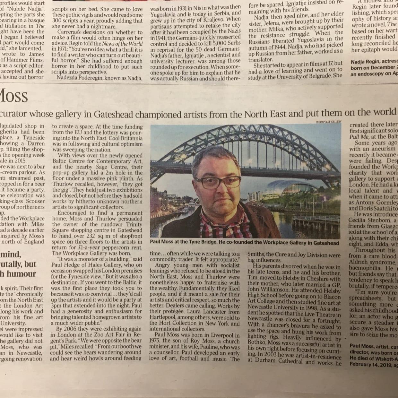 Paul Moss Obituary - The Times