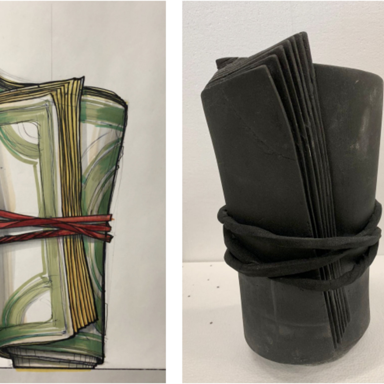 Dollar Vase, 2018