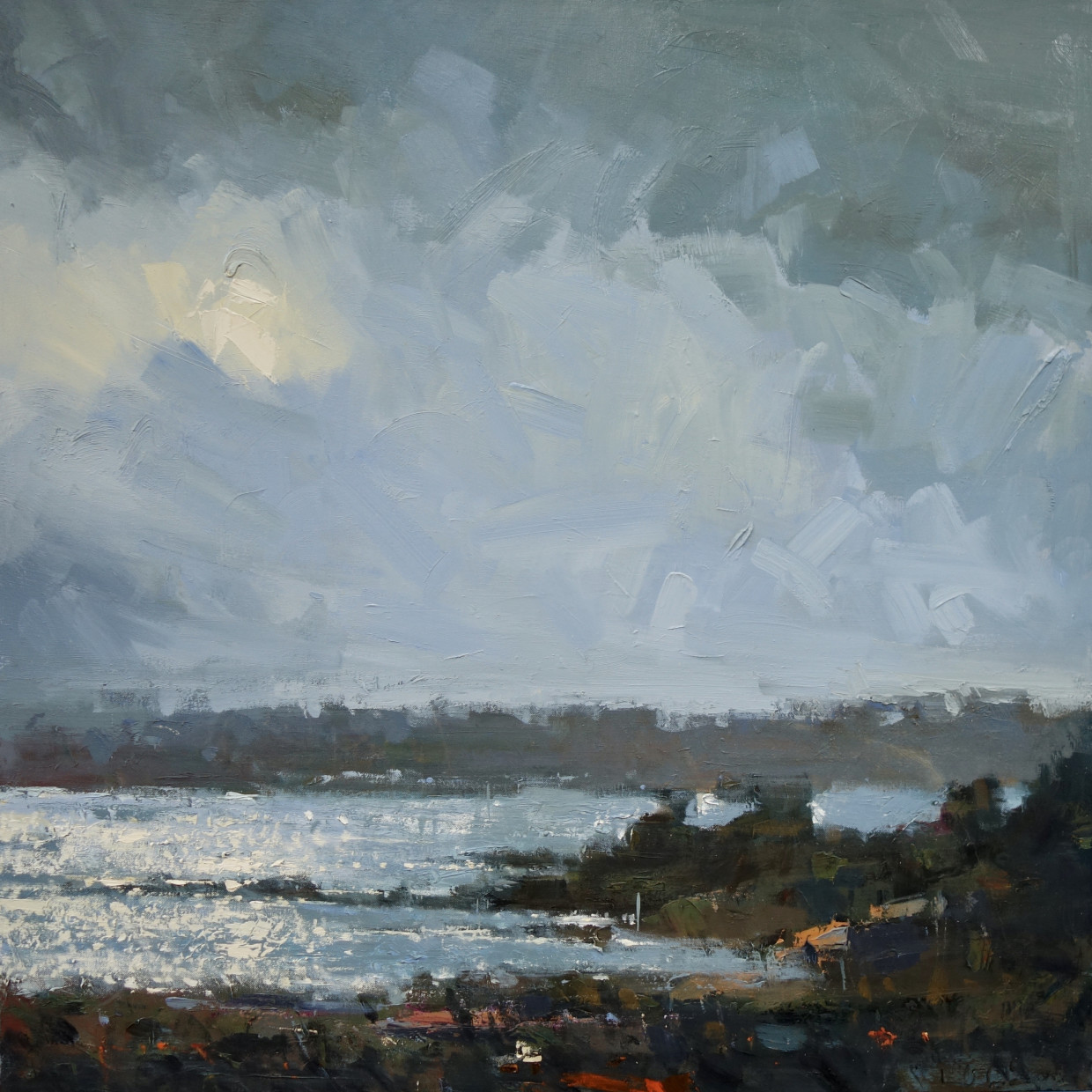 Featured Artist July: Gary Long New paintings