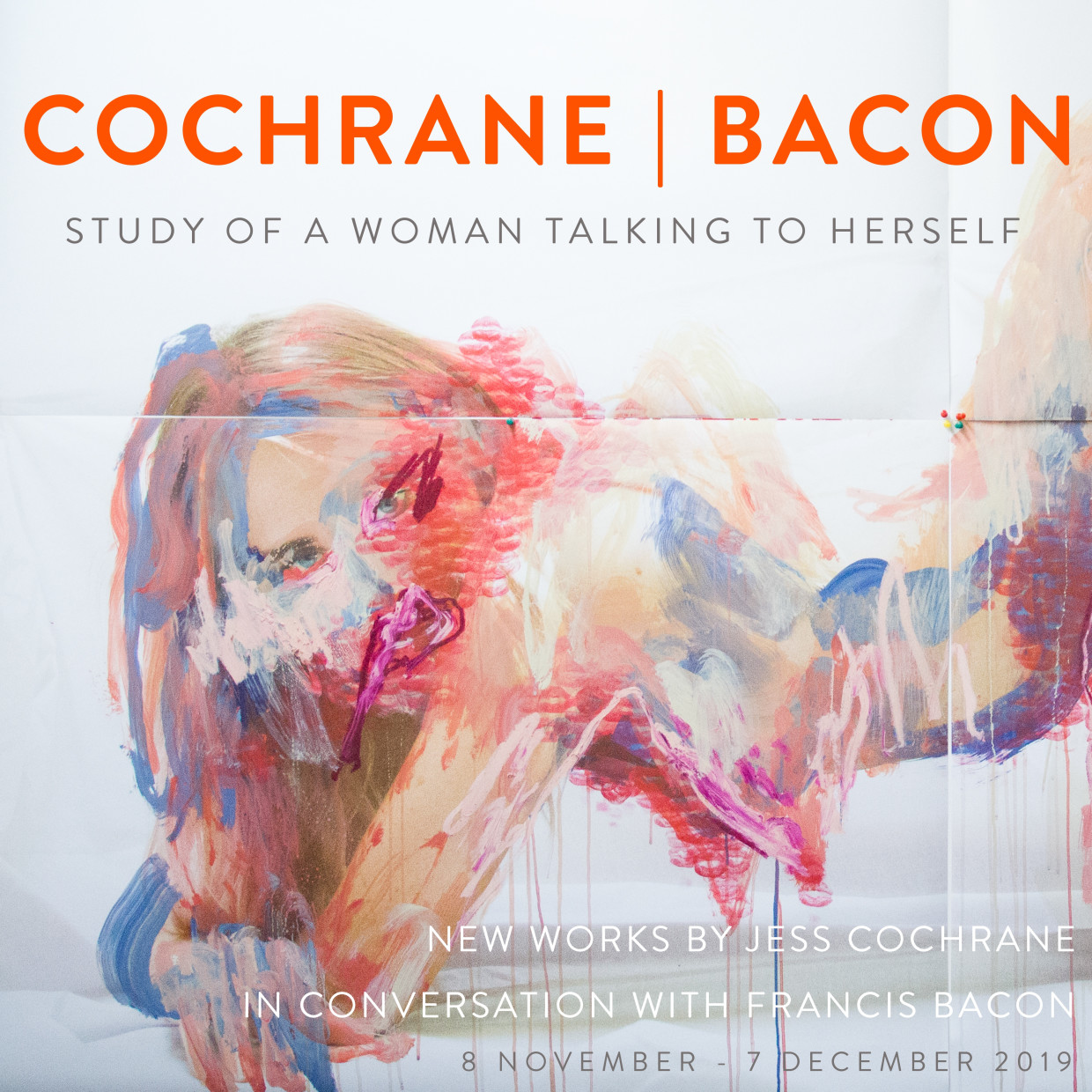 Study of a Woman Talking to Herself: Cochrane | Bacon
