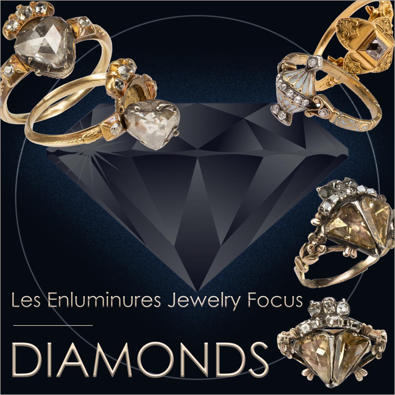 Les Enluminures Jewelry Focus: Diamonds