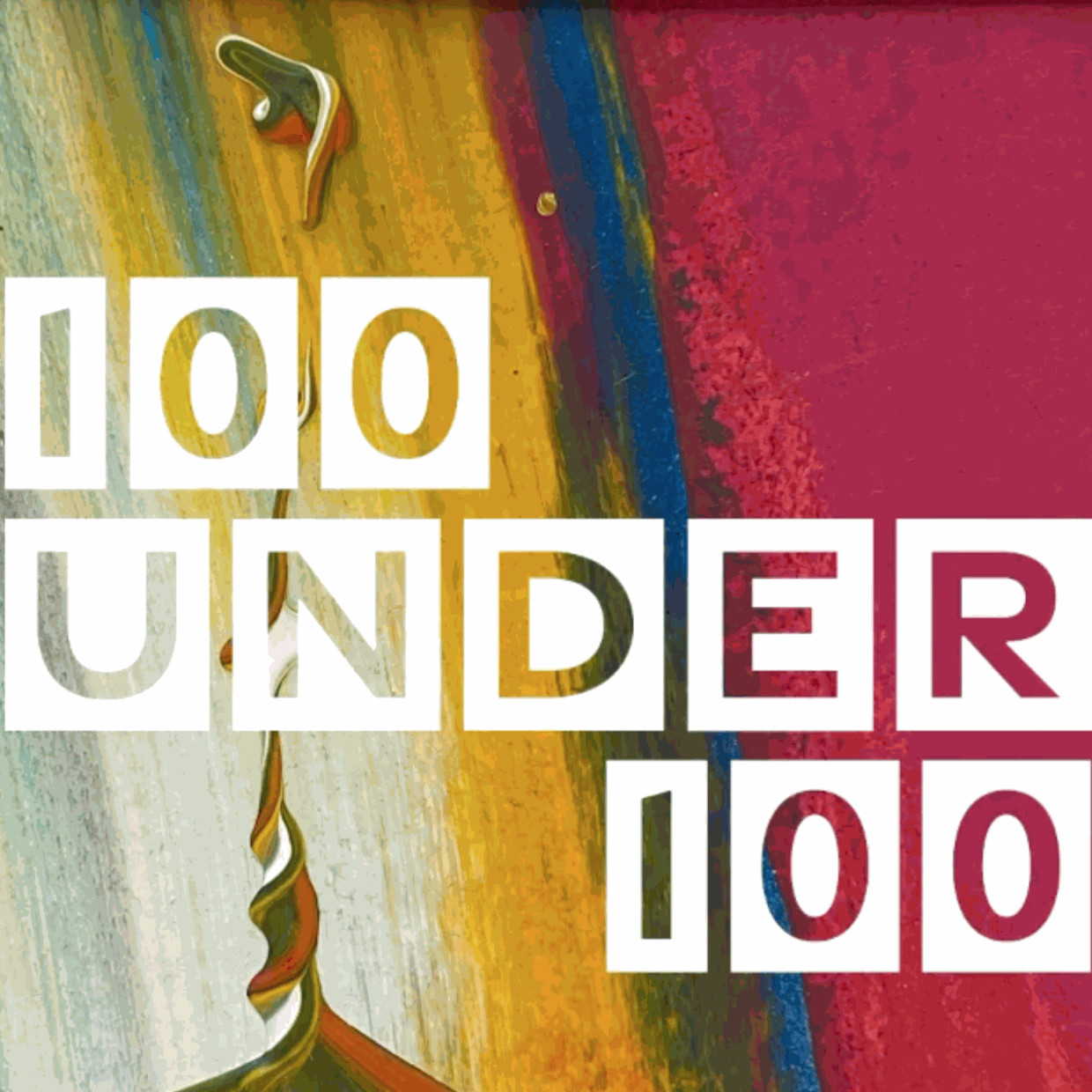 100 under £100, Making art collecting more affordable - small original paintings for under £100