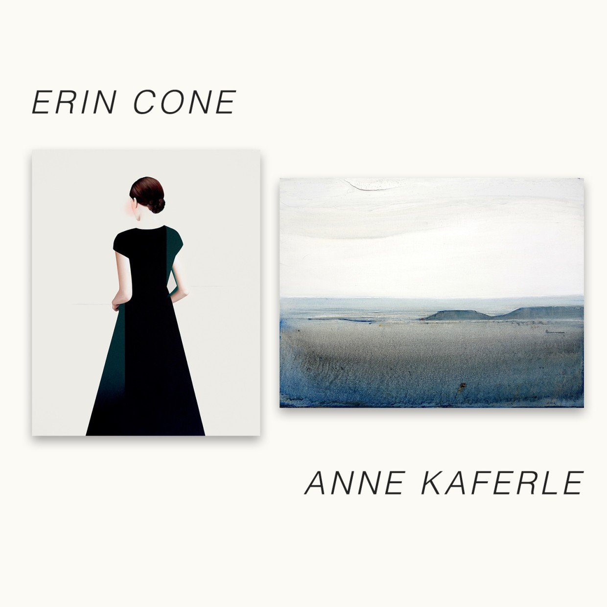 Erin Cone + Anne Kaferle Between the Physical + the Conceptual