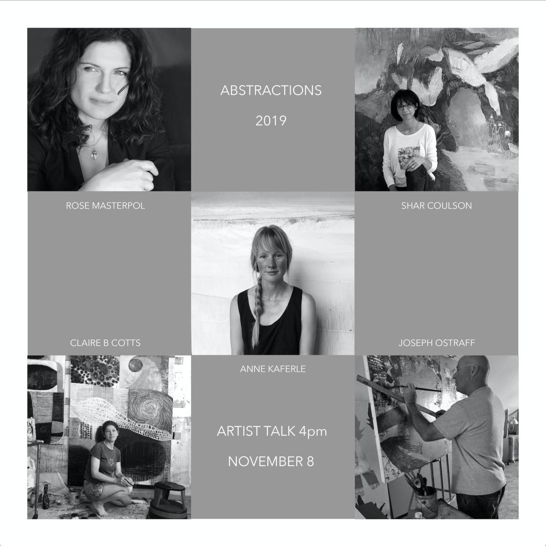 Abstractions 2019 Artist Talk