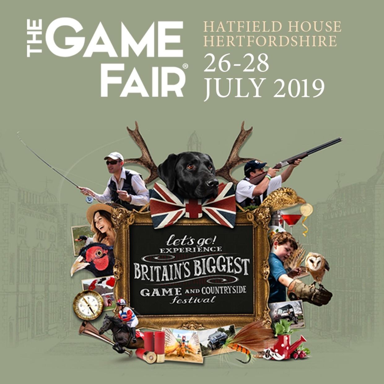 The Game Fair 2019 Hatfield House, Hertfordshire
