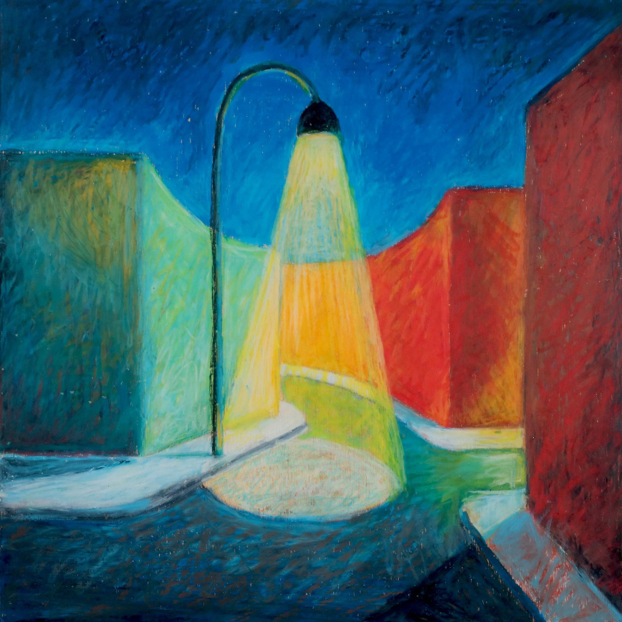 Open now online, Salvo in the 80s: Light and Form