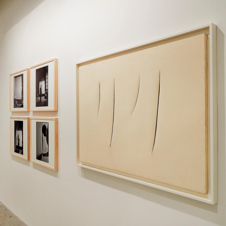 Lucio Fontana, Exhibition in New York