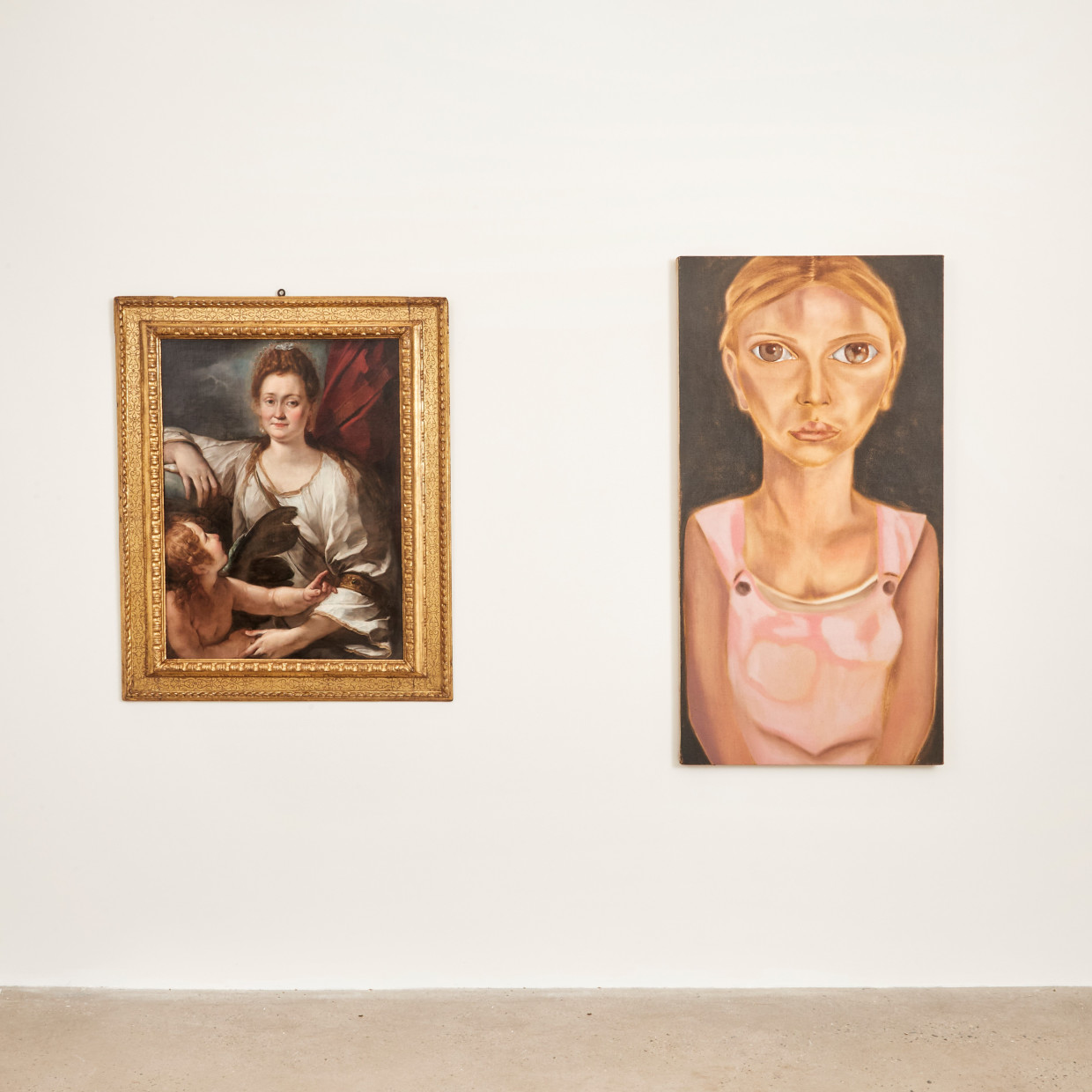 Two Artists, Two Actresses, On view now at Robilant+Voena's space in New York, 980 Madison, Suite 303