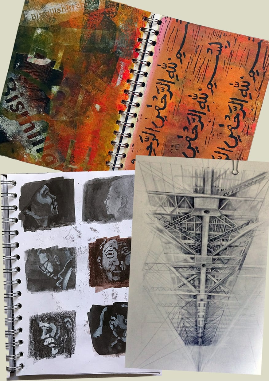 RE ORIGINAL PRINTS 2019: Talking about sketchbooks