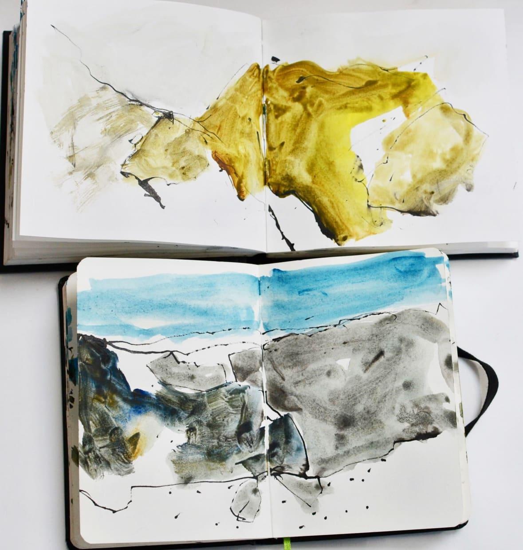 Inside my sketchbook: Jim Hunter