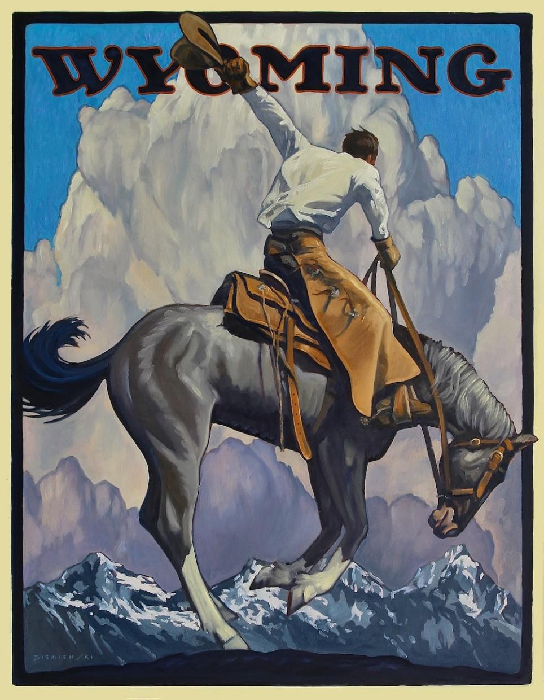 Dennis Ziemienski | Wyoming Postcard