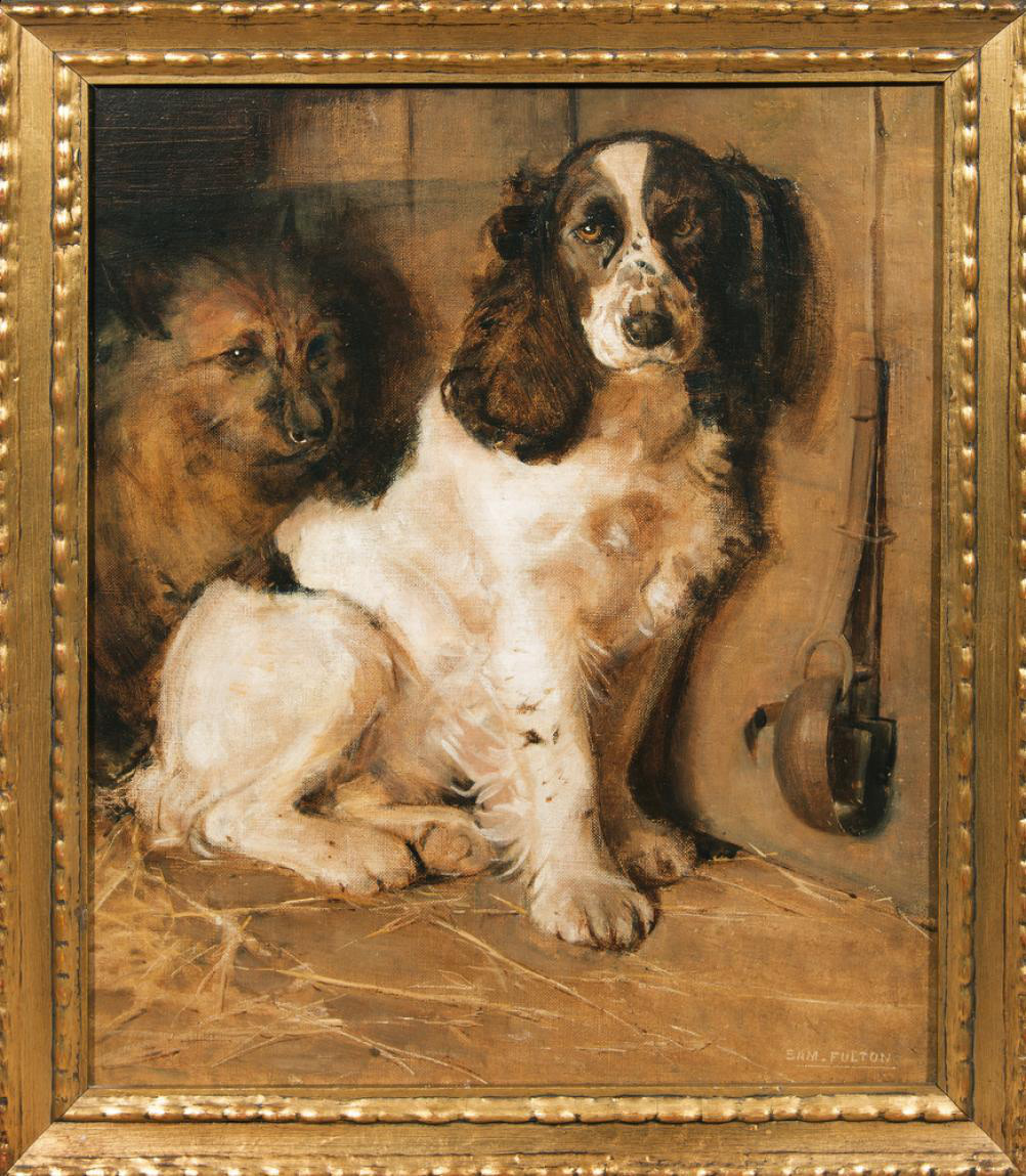 The Sportsman's Dogs: A Spaniel and a Terrier