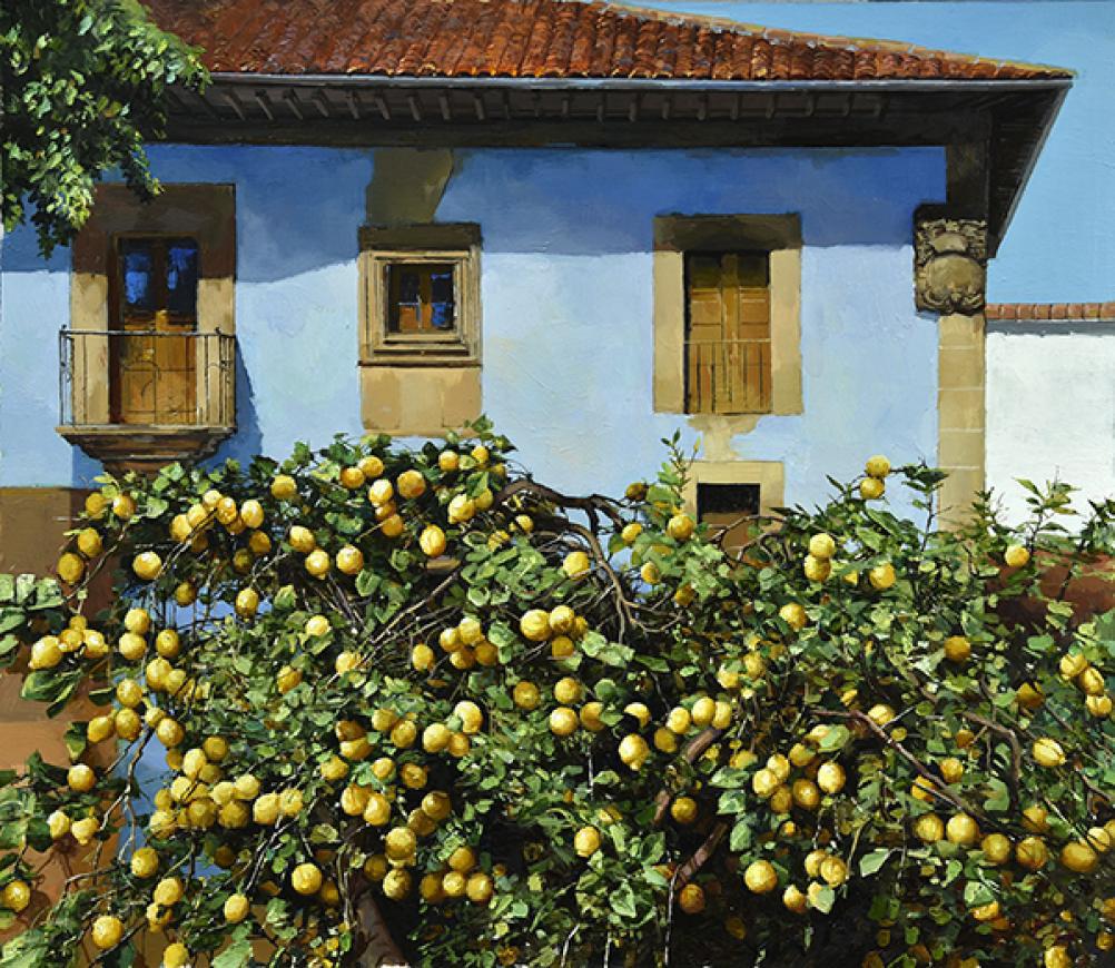 Spanish lemon tree