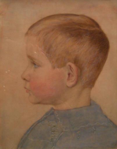 Portrait of Geoffrey the artist's son