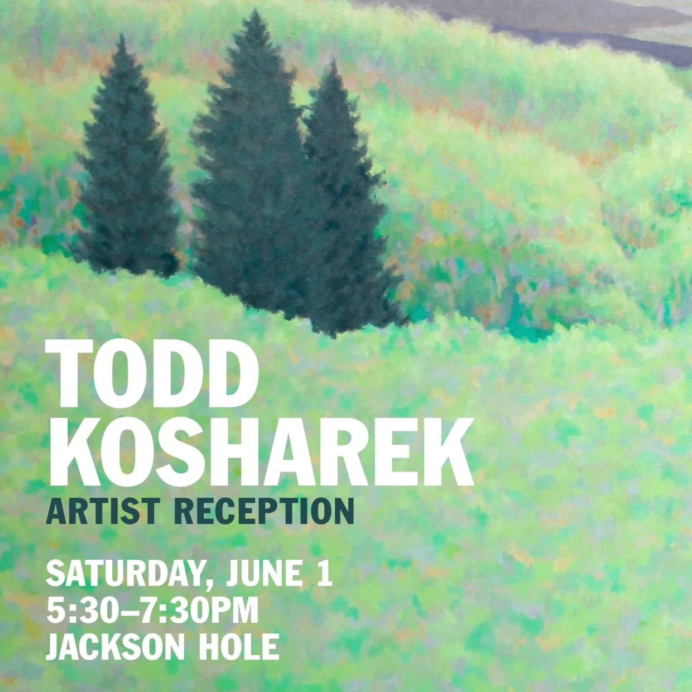 Todd Kosharek Reception | Nectar Exhibition