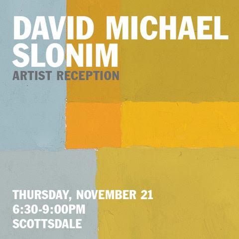 David Michael Slonim Artist Reception