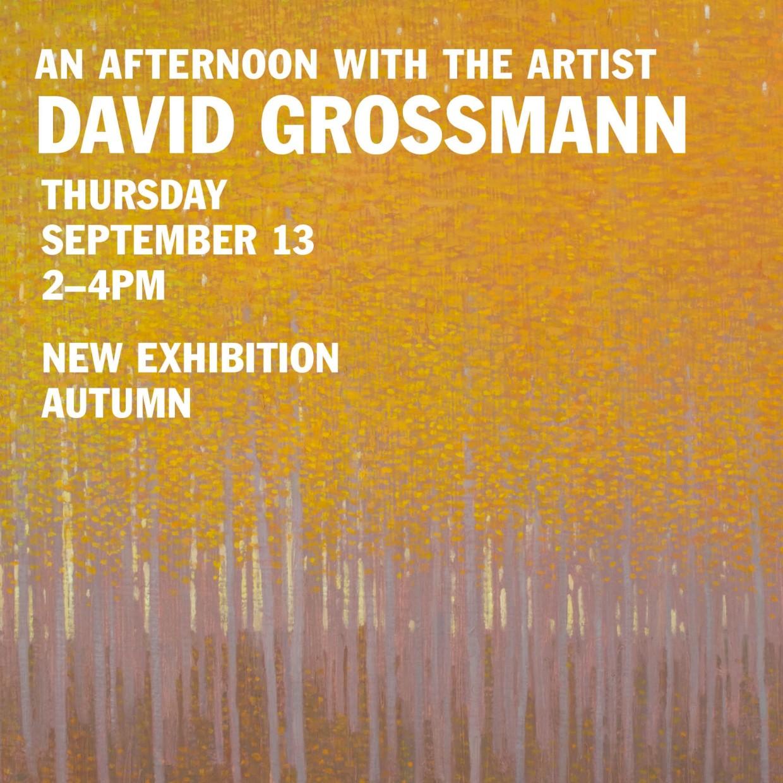 An Afternoon with David Grossmann