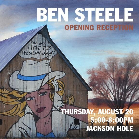 Ben Steele ArtWalk Reception