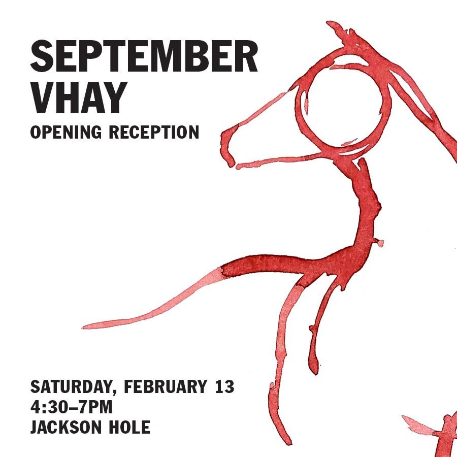 September Vhay Artist Reception