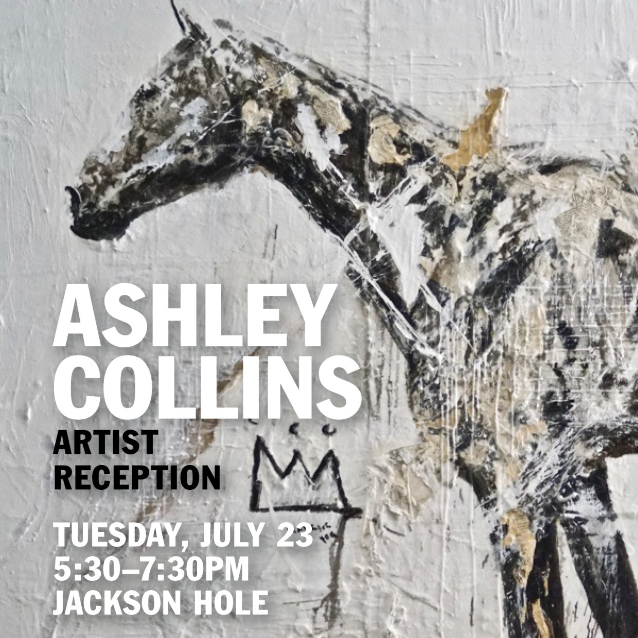 Ashley Collins Artist Reception