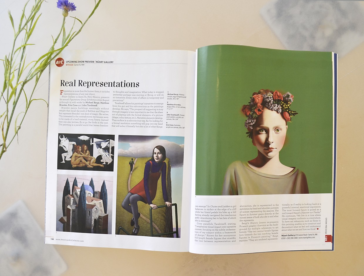 Figurations 2019 Group Exhibition featured in American Art Collector magazine