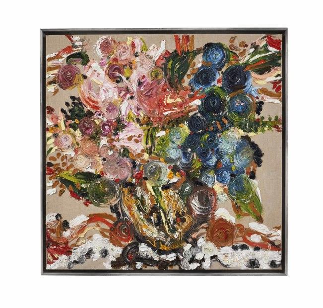 Maarten Vrolijk, Flowers in Terracotta, 2017
