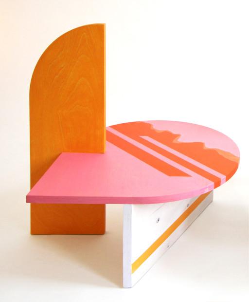 Colette Vermeulen, Side Table Pink, 2019